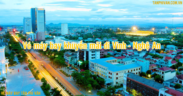 ve may bay khuyen mai di vinh