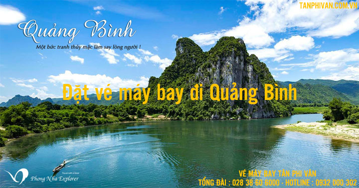 dat ve may bay di quang binh