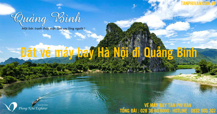 ve may bay ha noi di quang binh