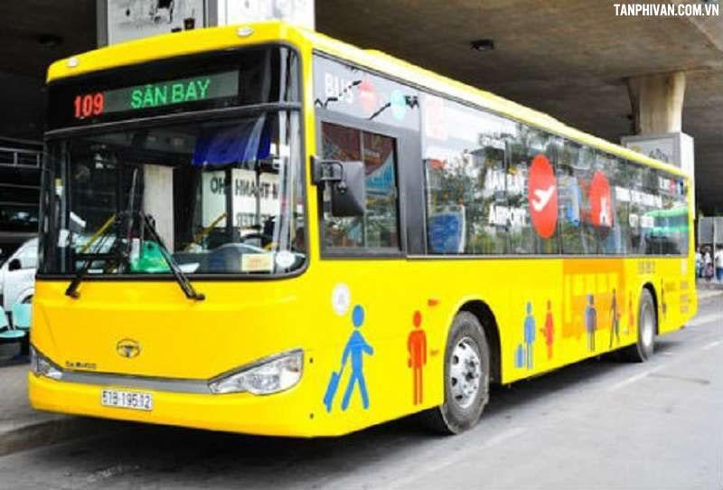 xe bus tại sân bay tân sơn nhất