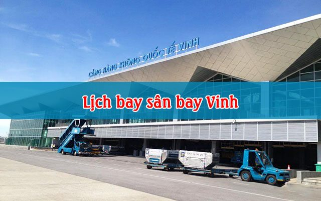 lich bay san bay vinh