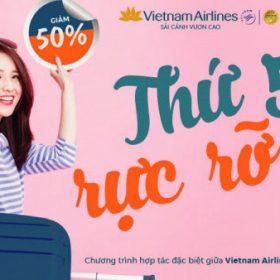 Thứ 5 rực rỡ cùng Vietnam Airlines và Jetstar giá vé chỉ 11K