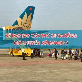 Vietnam Airlines tung vé khuyến mãi 99K chặng Cần Thơ – Đà Nẵng